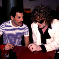 Freddie and Ian Hunter