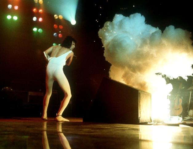Live in 1976 Freddie Mercury