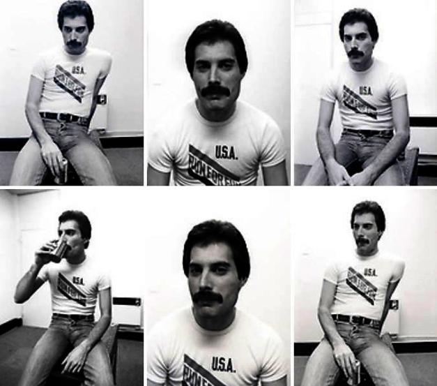 Freddie Mercury Dec 09, 1980, London